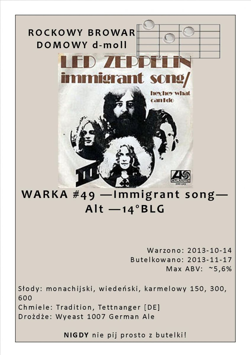 49   Immigrant song