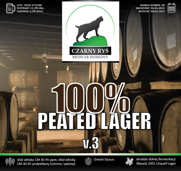 100% Peated Lager