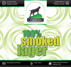100% Smoked Lager