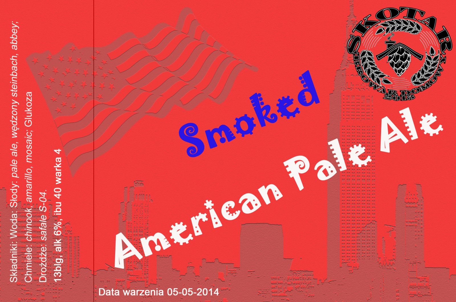 Smoked American Pale Ale