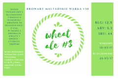 #30: Wheat Ale #3