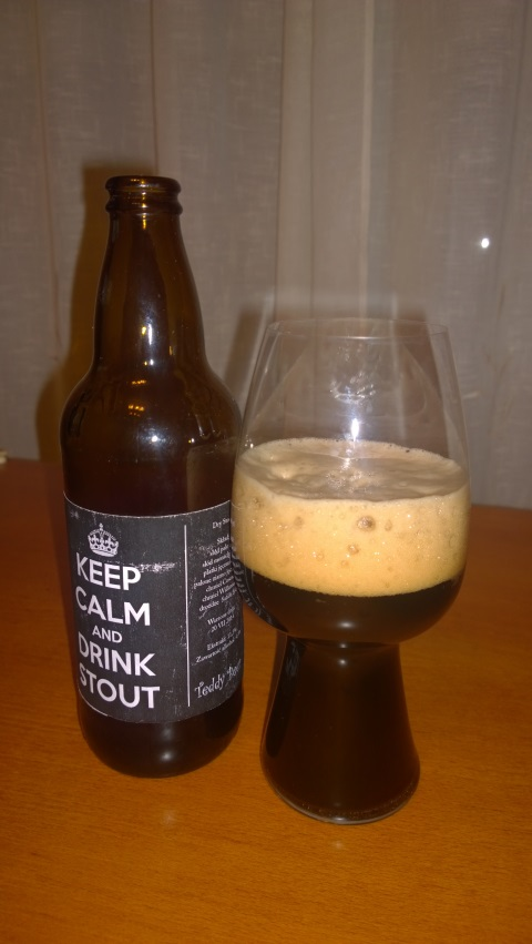 Teddy Beer Dry Stout