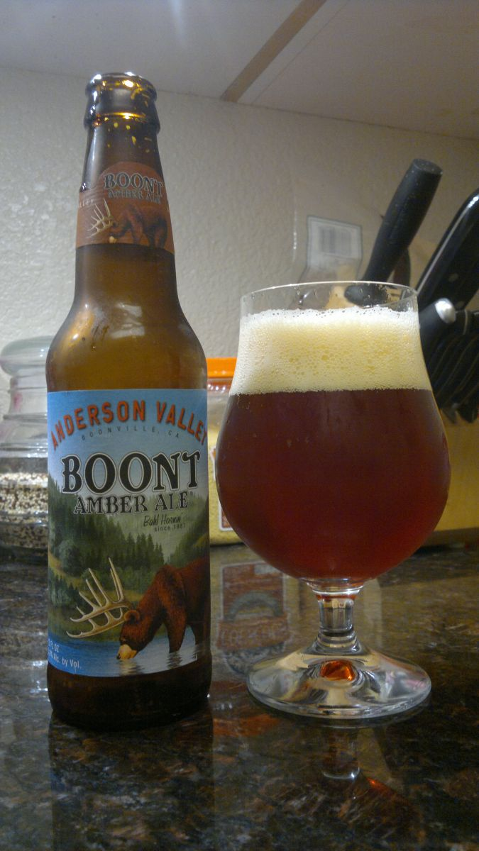 Boont Amber Ale, Anderson Valley
